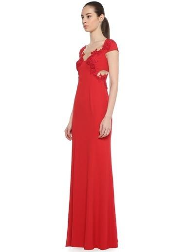 Marchesa Notte abiye elbise Kırmızı